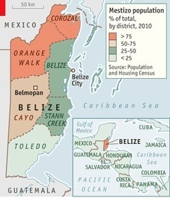 Immigrants in Belize - The Economist | Geography 400 at ric | Scoop.it