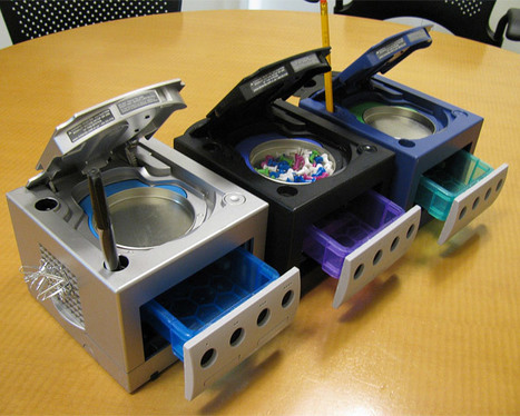 GameCube Desktop Organizers Would Only Be Better If They Still Played Super Smash Brothers Melee | All Geeks | Scoop.it