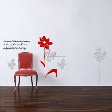 Wild Flower Wall Decals– WallDecalMall.com | Flower Wall Decals | Scoop.it