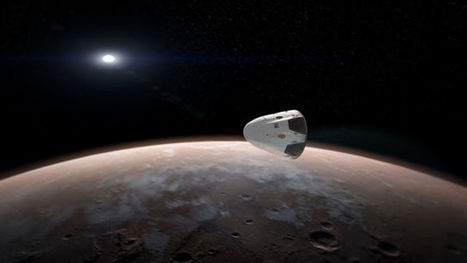 SpaceX plans to send its Dragon spacecraft to Mars | Space matters | Scoop.it