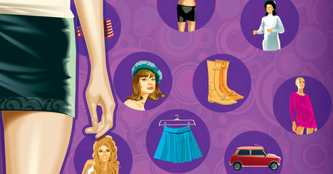 Up Up and Away: The Short History of the Mini Skirt | Infographics | Scoop.it