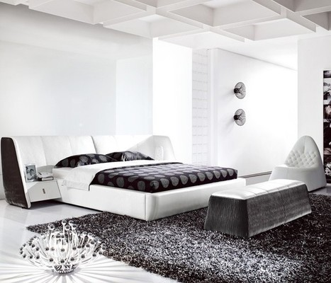 Modern White Bedroom Furniture | MeublesBH | Scoop.it