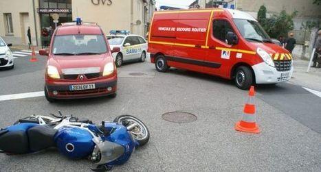 Un blessé dans un choc auto-moto en ville - ladepeche.fr | Accident deux roues motorisés | Scoop.it