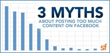 3 Myths About Posting Too Much Content On Facebook via @donhornsby | AtDotCom Social media | Scoop.it