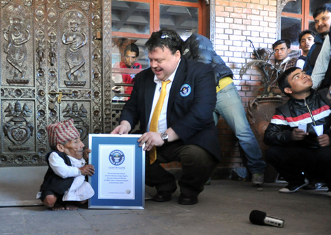 It's hard work being this short: 21.5inch-tall Nepalese farmer, 72, is confirmed as world's smallest man | Tourism In Nepal | Scoop.it