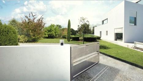 Motorisation de portail battant - Habitat Automatisme | automatisme, solaire et confort maison | Scoop.it