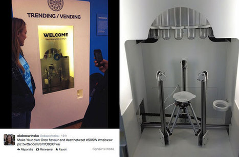 Le marketing imprimé en 3D d'Oreo au festival SXSW | We love Marketing | Scoop.it