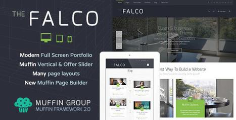 Falco – Responsive Multi-Purpose WordPress Theme Download | Best Wordpress Themes | Scoop.it