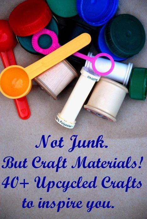 Red Ted Art's Blog » Blog Archive » Recycled Get Crafty! | The Media Center - Great Ideas! | Scoop.it