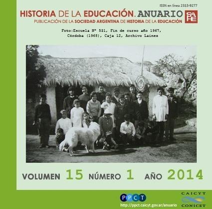 Historia de la Educación. Anuario | Educadores innovadores y aulas con memoria | Scoop.it