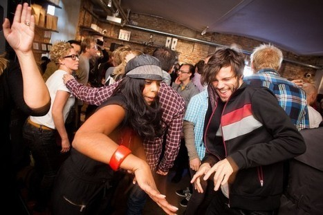 Lunch Beat – Sweden's Unusual Lunch Break Dance Parties | Strange days indeed... | Scoop.it