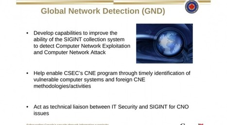 Slides reveal Canadian CSE secret hacking capabilities | Informática Forense | Scoop.it