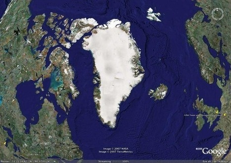 Rocky Rex's Science Stuff: Greenland - the melting ice giant | following geography education | Scoop.it