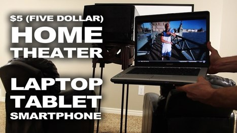Turn Your Laptop, Smart Phone or Tablet Into a Home Theater | The Bitcoin Blueprint | Scoop.it