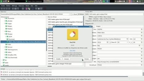 Easytag : Présentation du logiciel libre   Le blog de Wilfried Caruel   Actualités de l'open source   Scoop.it