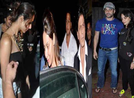 What were Shahrukh Khan & Gauri Khan doing with Salman Khan`s bhabhis Malaika & Seema? | Social Bookmarking & PDF uploading | Scoop.it