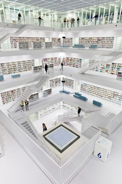 Stuttgart City Library | The Information Professional | Scoop.it