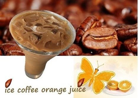 Recette de café glacé à l'orange (Etats Unis) | boissons de rue, cocktail, smoothies santé, Boissons fraîches et chaudes du monde, | Scoop.it