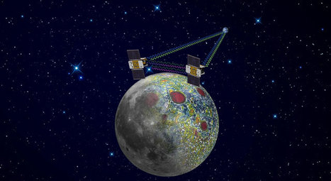 NASA's Moon Twins Going Their Own Way - NASA Jet Propulsion Laboratory   Planets, Stars, rockets and Space   Scoop.it