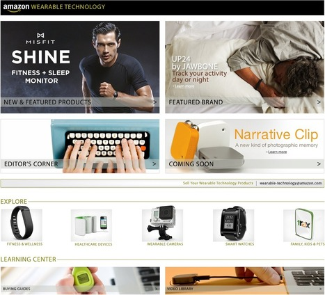 Amazon.com: Wearable Technology: Electronics | Tech News | Scoop.it