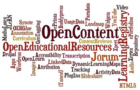 Enhancing Digital Infrastructure to Support Open Content in Education: announcing 15 new projects | Educational Technology in Higher Education | Scoop.it