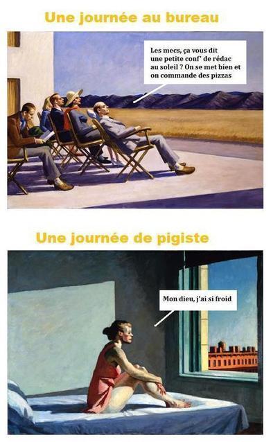 Le journalisme précaire, hihi. | Pauvre Pigiste | Scoop.it