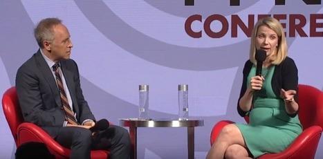 Yahoo CEO Marissa Mayer Talks Mobile, Video & Offers Her Take On Ad Blocking At IAB MIXX | Social Media Marketing Strategies | Scoop.it