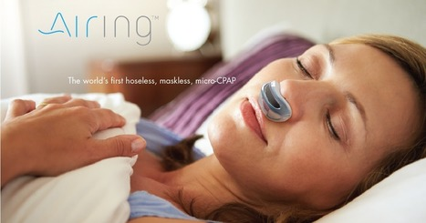 Airing: the first hoseless, maskless, micro-CPAP | Futuristic Technologies | Scoop.it