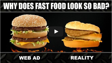 Fast Food Ads Aren't Showing You The Whole Picture | @FoodMeditations Time | Scoop.it