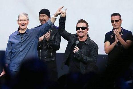 U2 fait perdre 100 M$ à Apple | Think outside the Box | Scoop.it