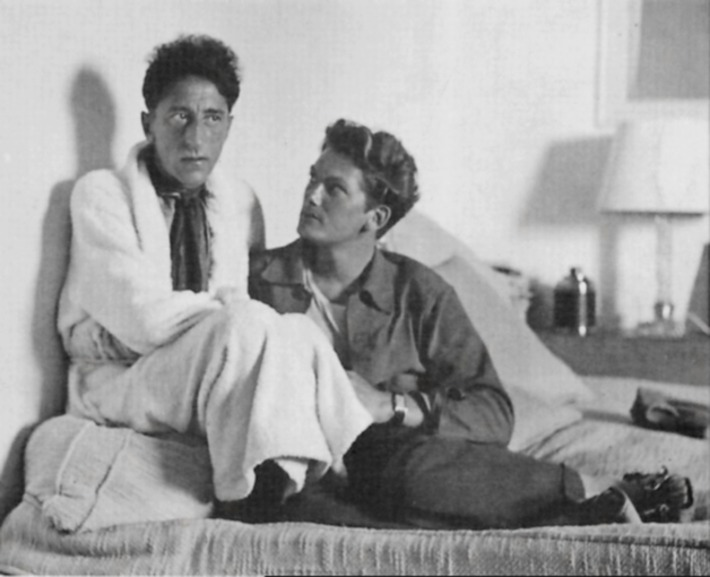 Jean Cocteau and Jean Marais, Cote d'Azur, 1939 | Sex History | Scoop.it