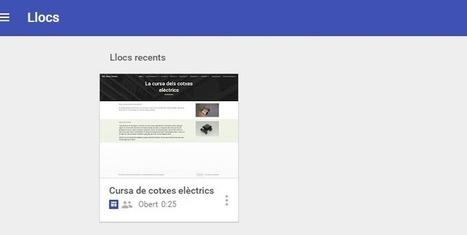 Probando la nueva versión de Google Sites | EL BADIU del CRP | Scoop.it
