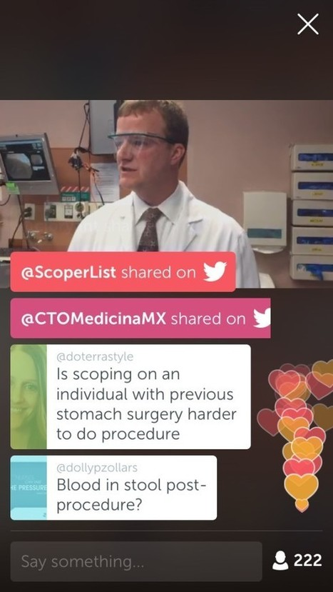 Mayo Clinic's first-ever live colonoscopy on Periscope: A big win for 5 reasons | | Health Care Social Media And Digital Health | Scoop.it