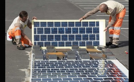 Francia pretende pavimentar 1.000 km de carreteras solares | Infraestructura Sostenible | Scoop.it