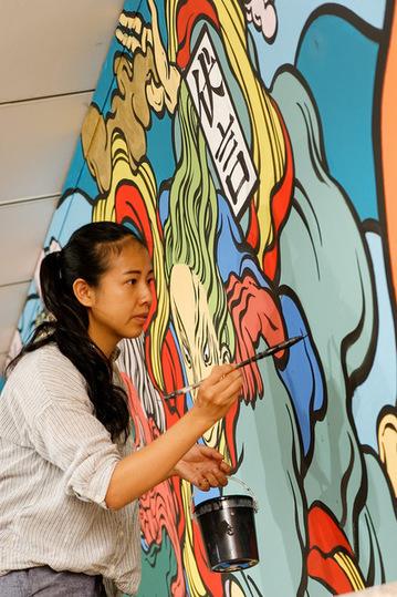 Wall drawings : murés à l'intérieur | Le Mac LYON dans la presse | Scoop.it
