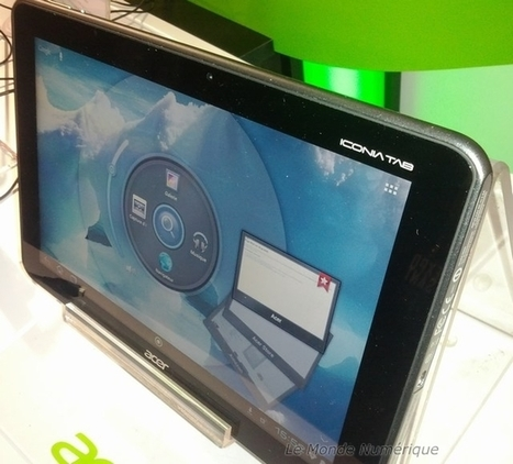 IT Partners 2012 : Acer montre sa tablette Iconia Tab A510 Tegra 3 Smartphone/Tablette acer NVIDIA | mlearn | Scoop.it