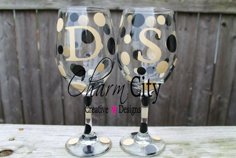 Personalized Wine Glass 20 oz Pittsburgh Penguins, University of Colorado, military | Terroir Radio | Scoop.it