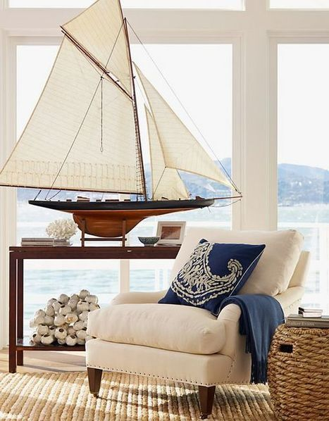 Nautical Decor Ideas: Riding The Waves With Sailboats And Surfboards! | What Surrounds You | Scoop.it