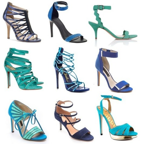 BEST OF BLUE SANDALS:  Try These Strappy, Ocean-Inspired Styles | Top Shoes | Scoop.it
