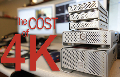 The Cost of 4K: From Acquisition to Archiving | CineTechnica | HDSLR | Scoop.it