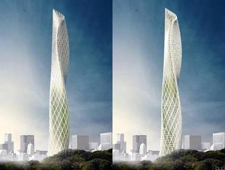 Taiwanese Tower, mini turbine eoliche in facciata | The Architecture of the City | Scoop.it