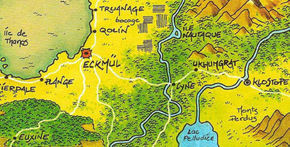 Voyage dans la bande dessinée à travers quelques cartes | Map@Print | Scoop.it