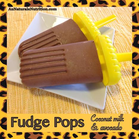 Frozen Fudge Pops - Au Naturale! | Nutrition & Recipes | Scoop.it