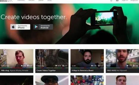 Avec MixBit, les créateurs de YouTube misent sur la vidéo collaborative   Geeks   Scoop.it