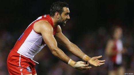 AFL star Adam Goodes booed again during Melbourne match - BBC News | Aboriginal and Torres Strait Islander Studies | Scoop.it