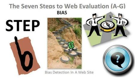 Step B… Seven Steps To Website Evaluation For Students… Promoting Digital Citizens | Information Literacy 101 | Scoop.it