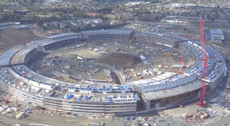 New Apple HQ drone footage lets you fly over its enormous underground auditorium | Nerd Vittles Daily Dump | Scoop.it