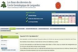 Explorer toutes les pistes avec la base transversale du Cercle de Languedoc   Rhit Genealogie   Scoop.it