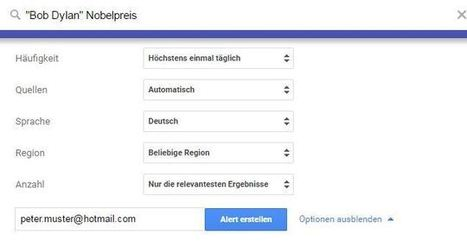 Google Alerts | Web2.0 im Deutschunterricht | Scoop.it