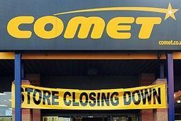 The end of an era. Electricals chain Comet closes its final stores after administrators fail to find a buyer | Retail Trends | Scoop.it